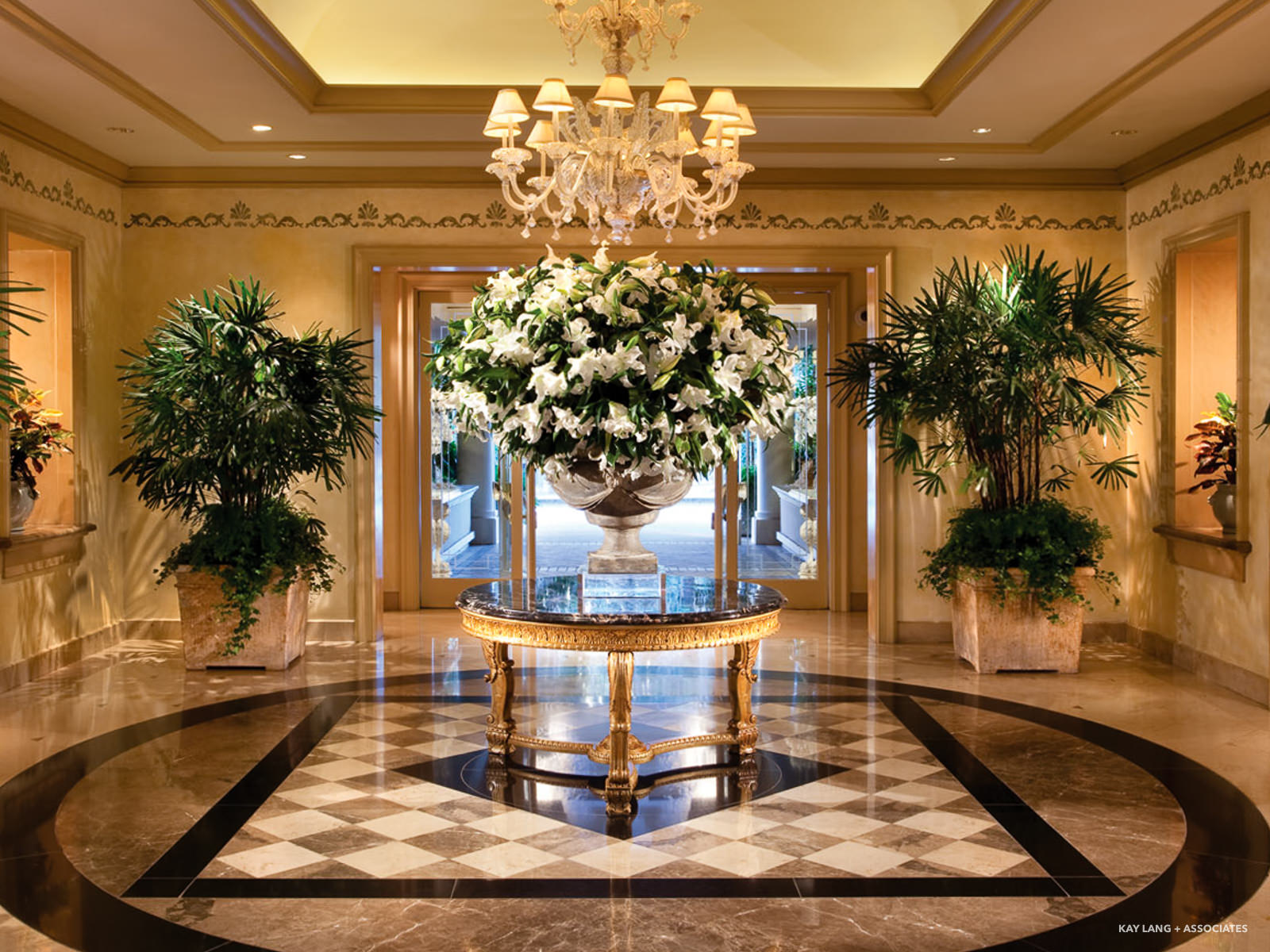 Four Seasons Los Angeles Beverly Hills Kay Lang Associates
