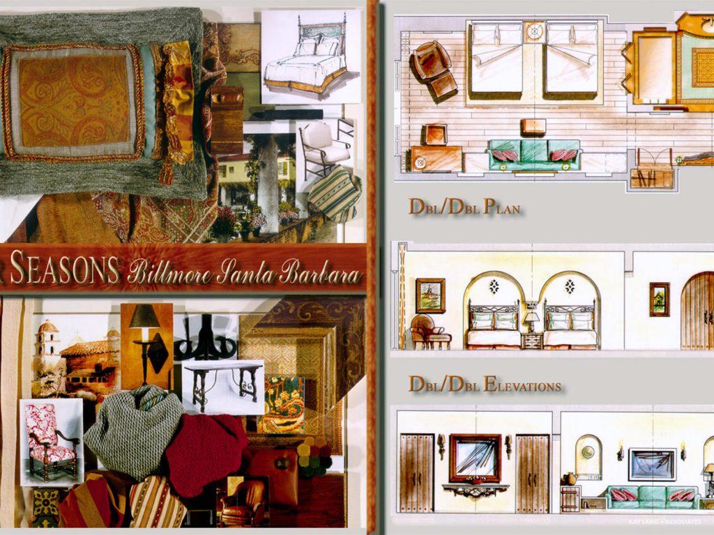 The Biltmore Santa Barbara & Four Seasons 5- Star Resort u0026 Spa u2013 Interior Design California