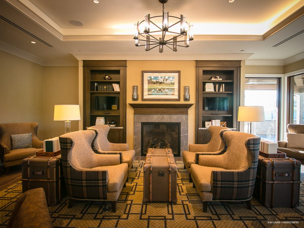 Interior: Newport Beach Country Club