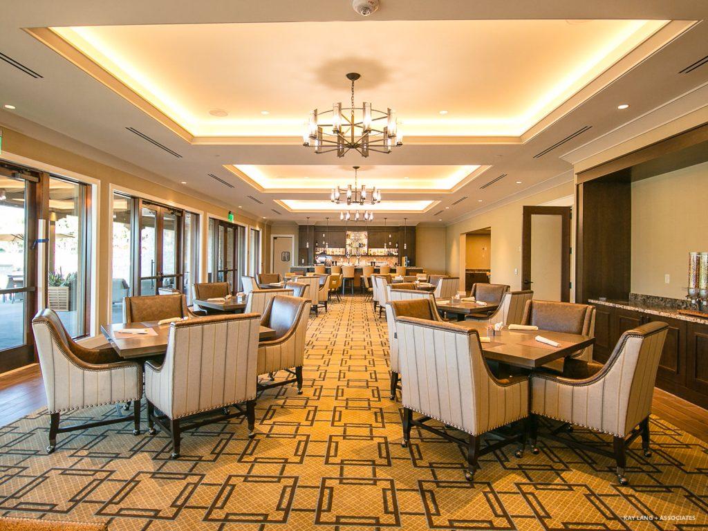 Newport Beach Country Club Interior Design New Build