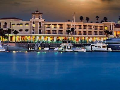 balboa bay resort newport beach interior design guestroom spa suites ballroom