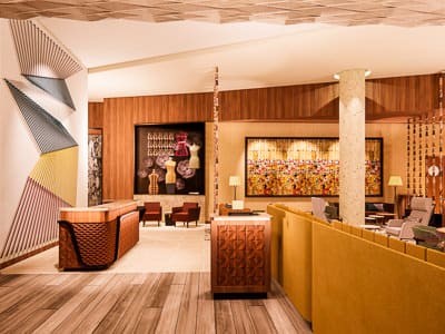 downtown los angeles hotel interior design hospitality