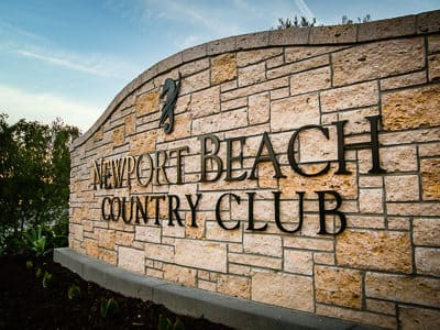 newport beach country club interior design exterior