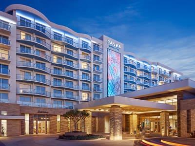 paséa resort spa costal luxury hotel interior design
